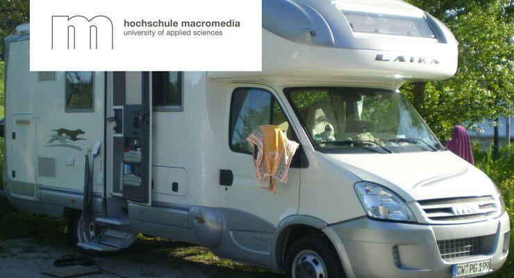 Studentenprojekt Macromedia Hochschule: Aussteiger im Wohnmobil