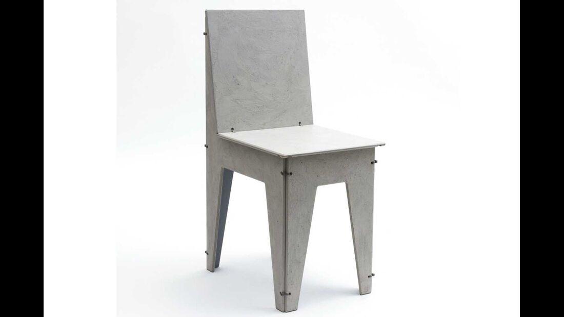 Stuhl Luise Beton