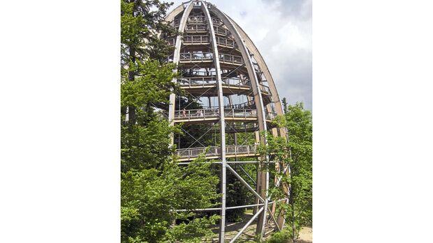 Südbayern Baumturm