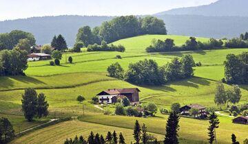 Südbayern Natur und Häuser