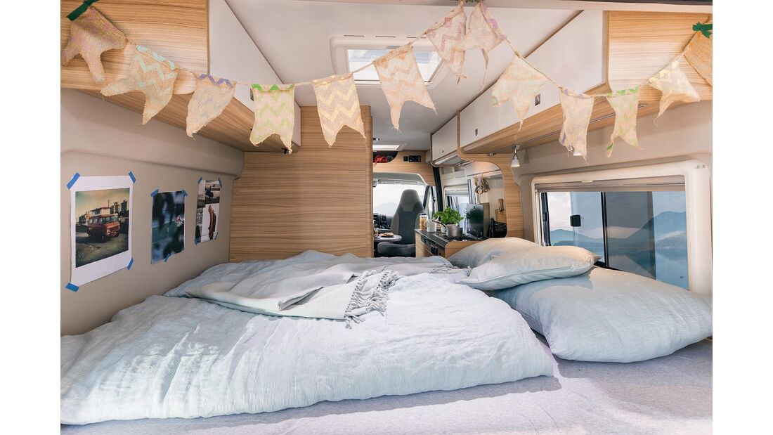 Sunlight Camper Van Cliff 601
