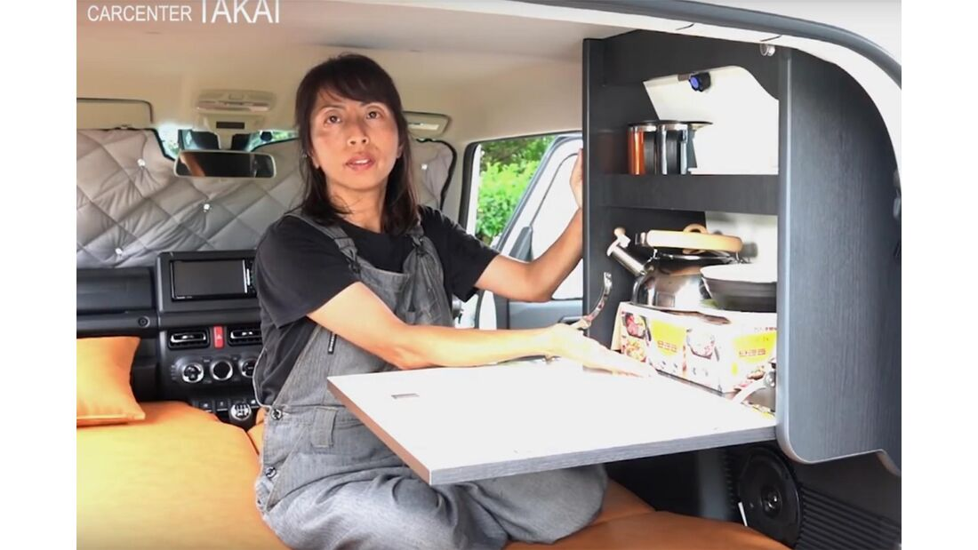 Suzuki Jimny als Wohnmobil