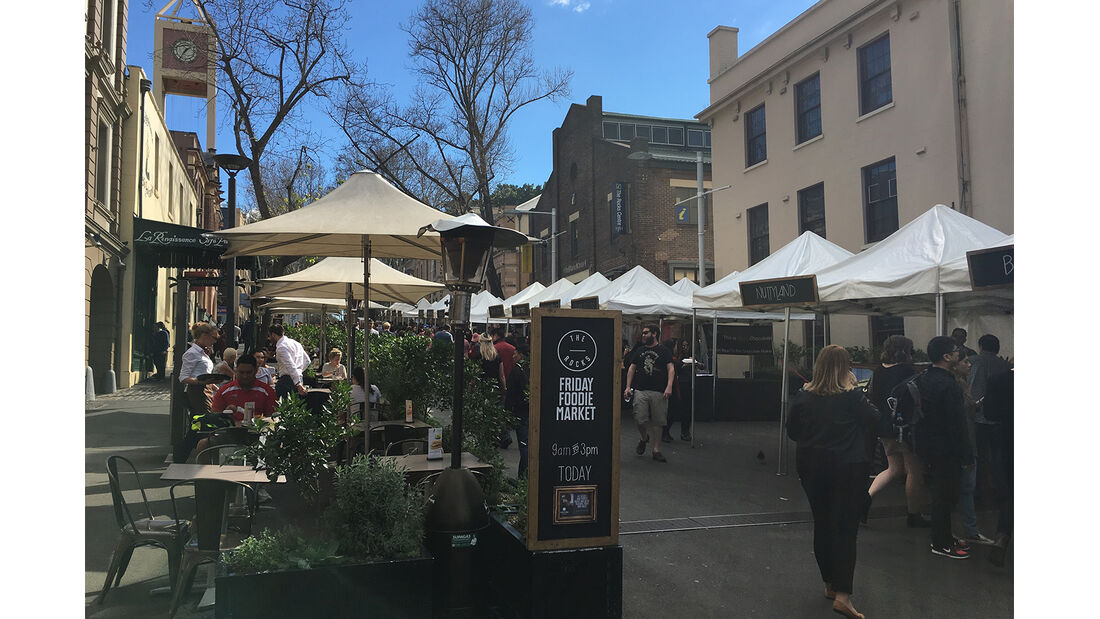 Sydney Straßenmarkt