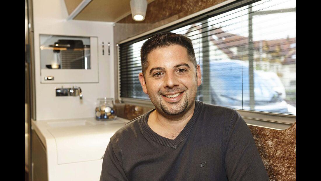 Sylvain Heideier, Produktmanager und Projektleiter Harmony II