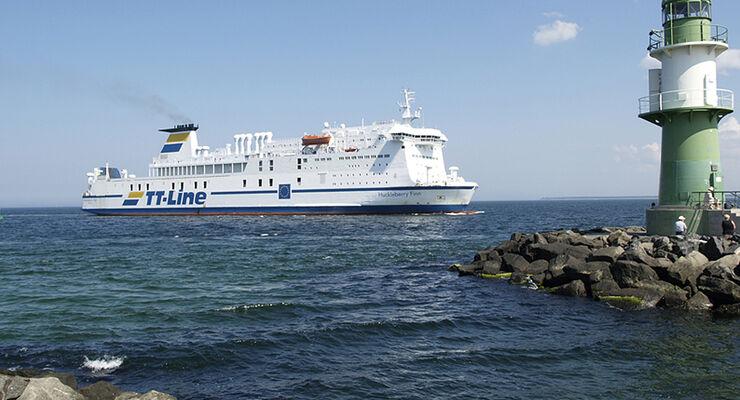 TT-Line-Fähren ermöglichen Vierbeinern viel Bewegungsfreiheit an Bord, statt sie beengt im Auto-Kofferraum reisen zu lassen.