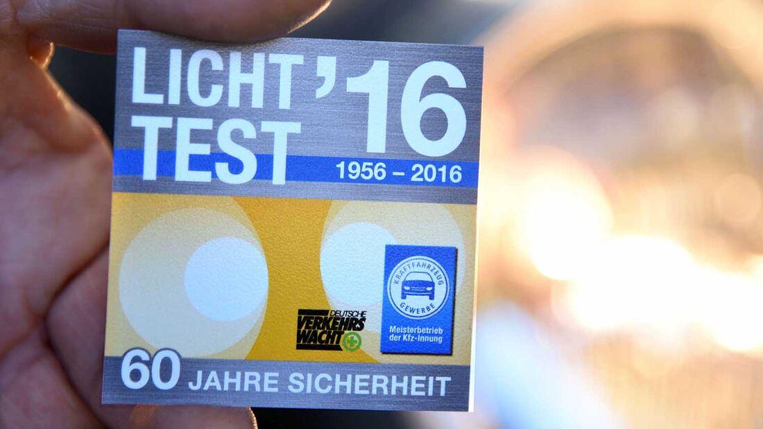 TÜV Lichttest 2013