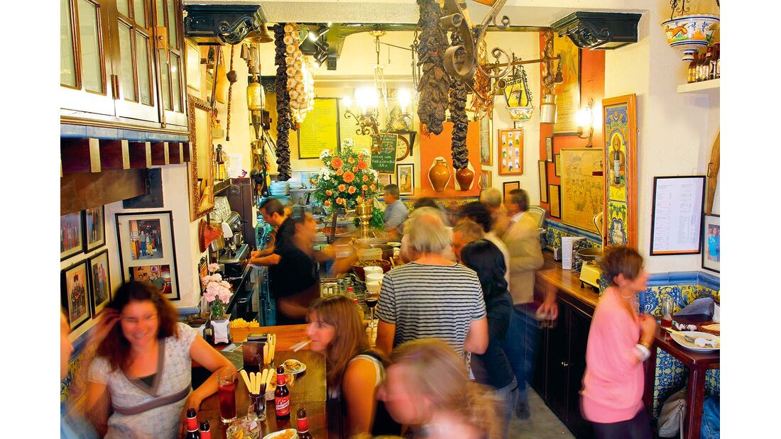 Tapas-Bar in Sevilla