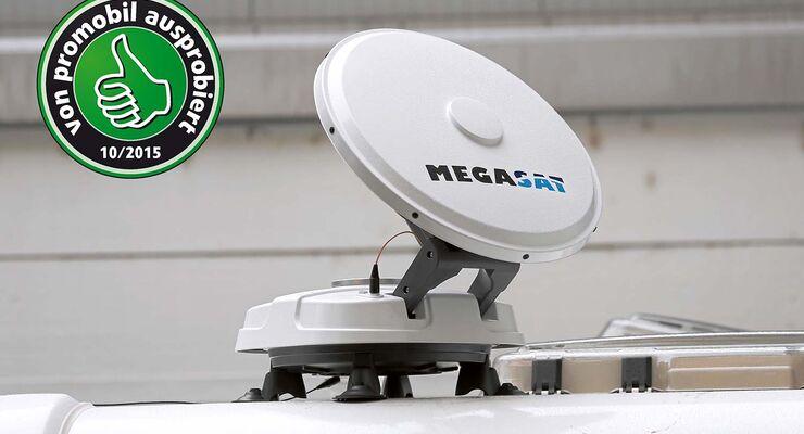 Tragbare Sat Antenne Von Megasat Im Test Promobil