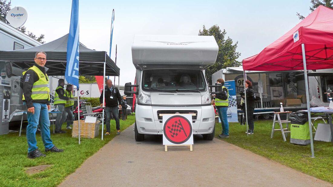 Technik Caravane Rallye