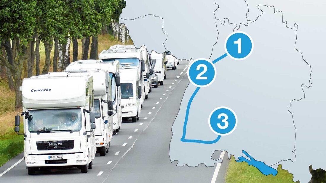 Technik Caravane Route 2015