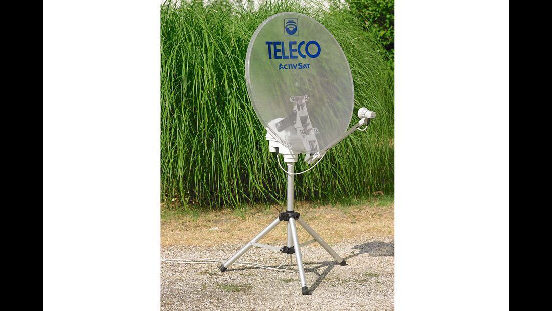 Teleco hat 2018 eine Satanlage mit durchsichtiger Antenne im Programm.