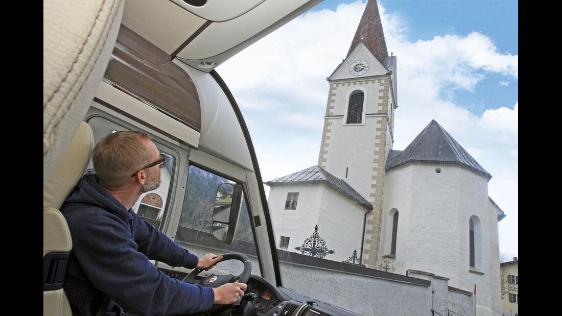 Test: Bürstner Grand Panorama