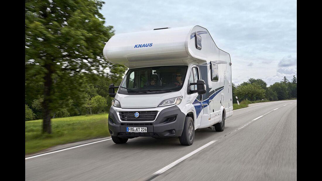 Test Knaus Live Traveller 600 DKG
