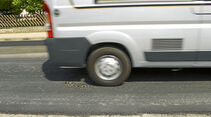 Testfahrt: Fahrwerksoptimierung, Hinterachse