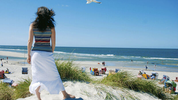 Thema des Monats: Strandgut, Traumstrände, CAR 07/2012 - Amrum
