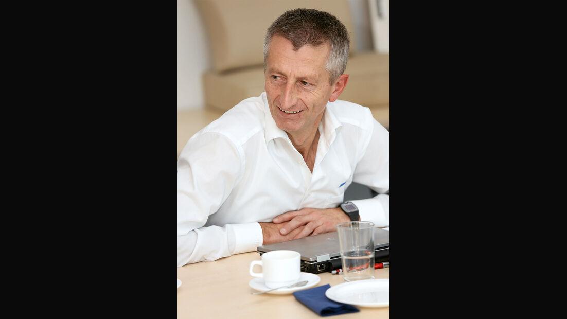 Thomas Buschle ist als Teamleiter verantwortlich für Exterieur und Fahrzeugtests.