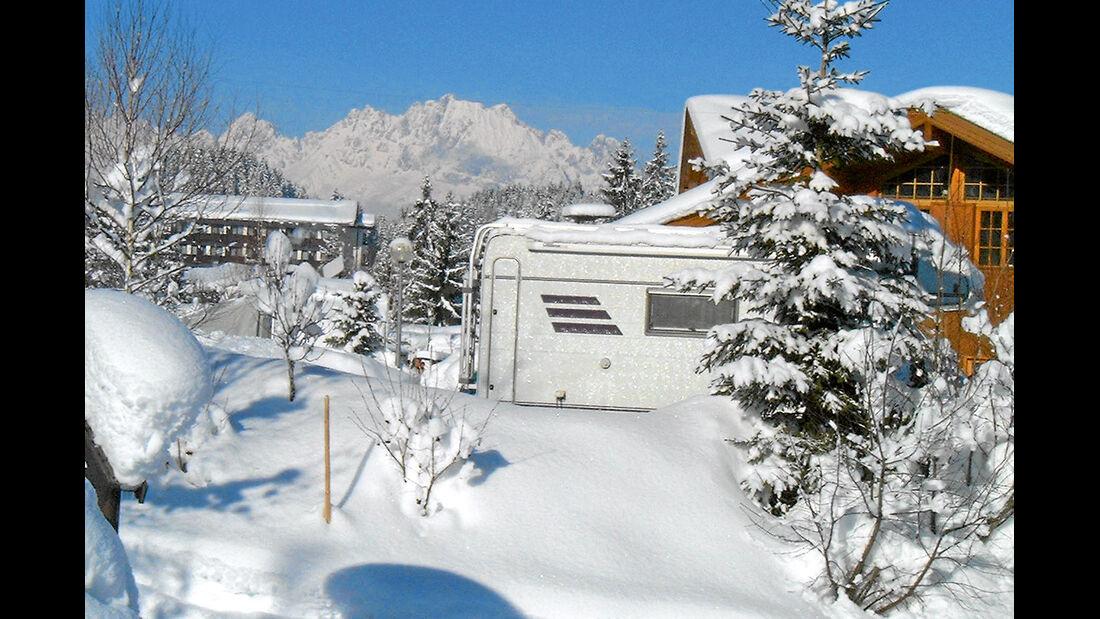 Tirol-Camp in Fieberbrunn.