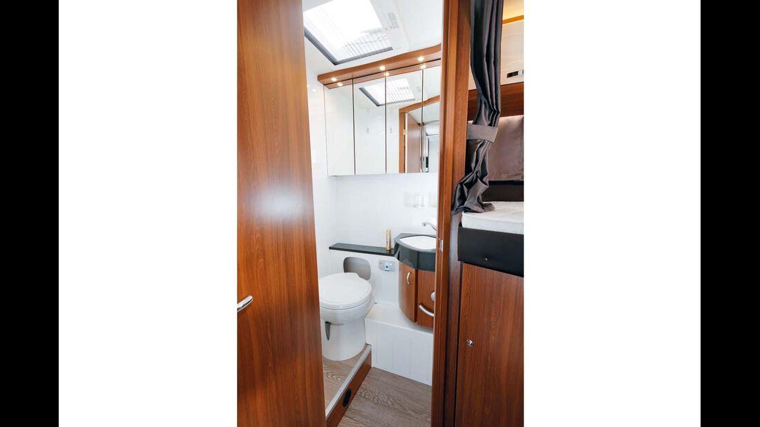 Toilettenraum im Hobby Optima