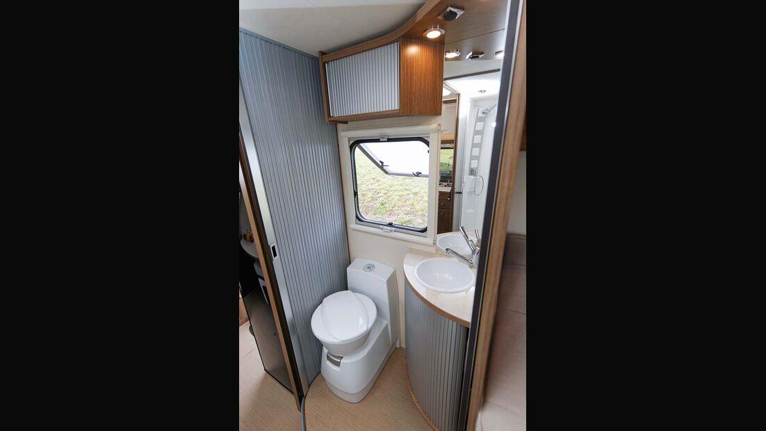 Toilettenraum im Itineo JB 700