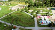 Touren-Tipps: Landesgartenschau, Blumenwirbel