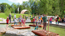 Touren-Tipps: Landesgartenschau, Wasserspielplatz