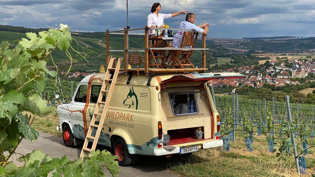 Trapperbus-Mietmobil