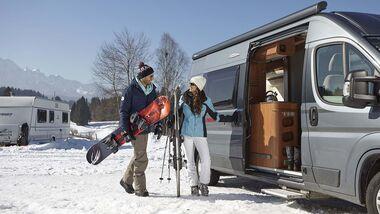 Truma Wintercamping