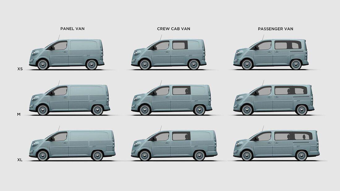 Type HG-Bausatz für Citroën Spacetourer/Jumpy