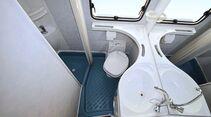 Typisch für viele Grundrisse von Rimor ist die separate Dusche.