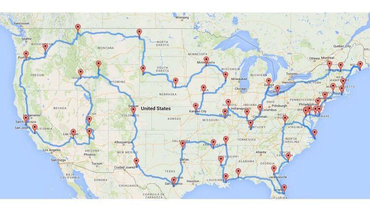Selbstfahrer Tour Durch Die Ganze Usa Mit Canusa Touristik Promobil