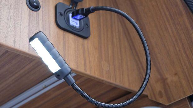 USB-Schwanenhalslampe
