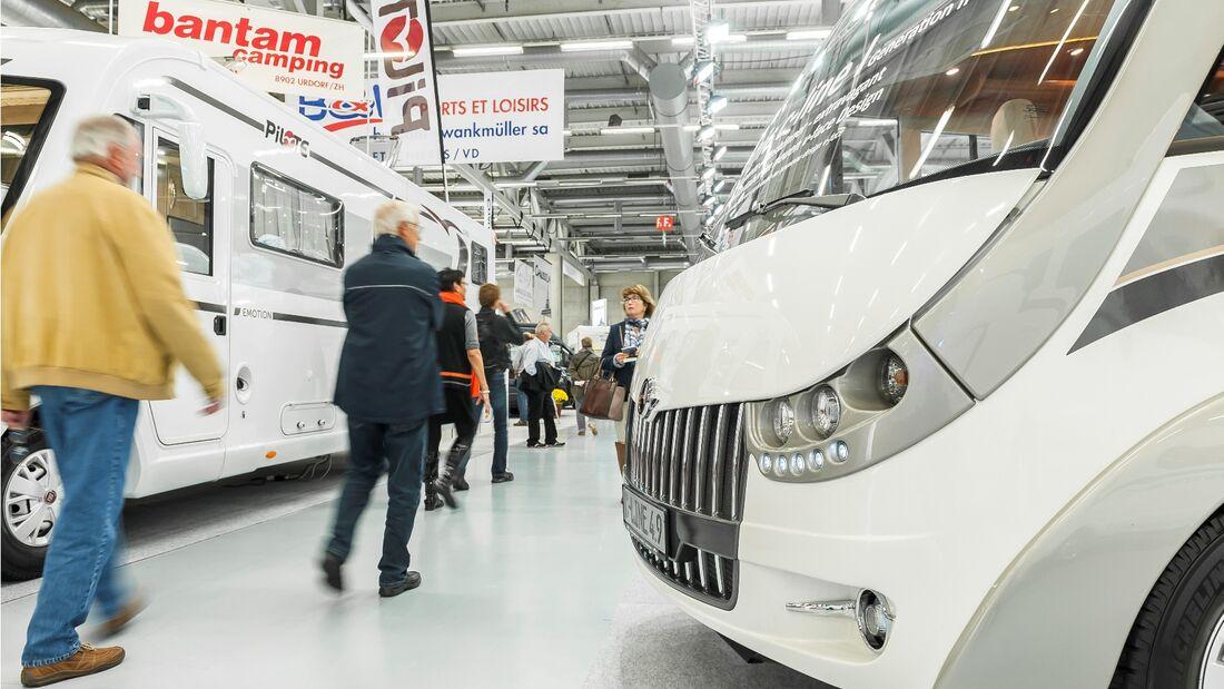 Über 41 000 Besucher kamen vom 23. bis zum 25. Oktober 2014 auf den 47. Suisse Caravan Salon in Bern.