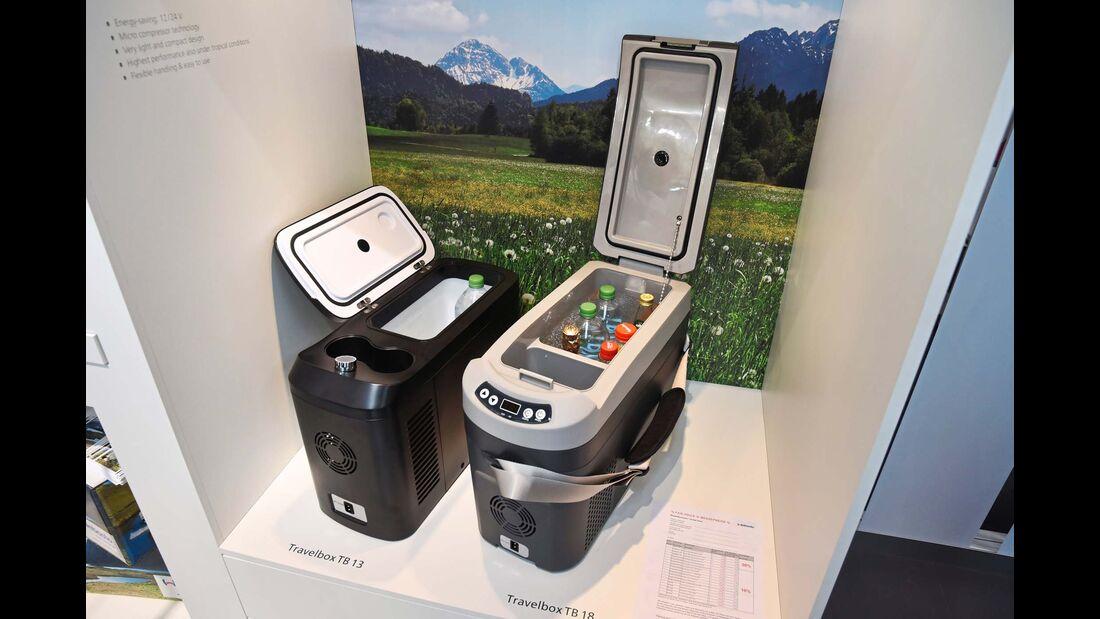 Überarbeitet wurden die Kühlboxen der Isoterm-Travelbox-Serie.