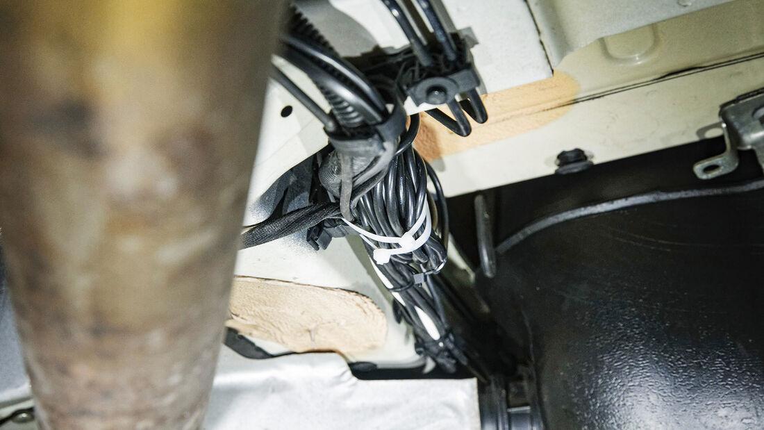 Unterbodenkamera im Reisemobil