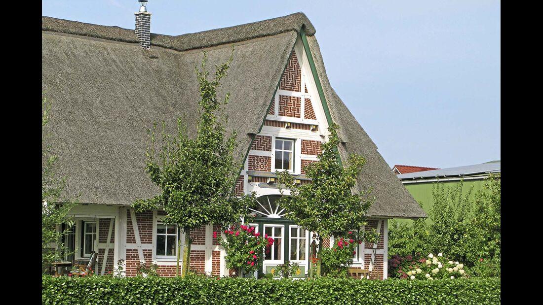 Untere Elbe Altes Land Fachwerkhaus