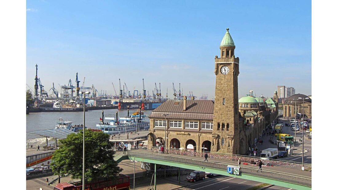 Untere Elbe Altes Land Hamburg
