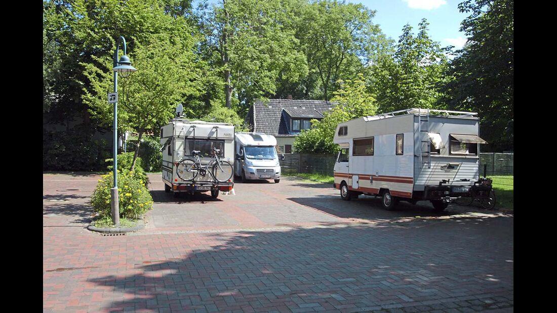Untere Elbe Altes Land Stellplatz Otterndorf