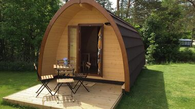 Unterkünfte Schweizer Campingplätze