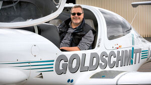 Unterwegs mit…: Goldschmitt, Flugzeug