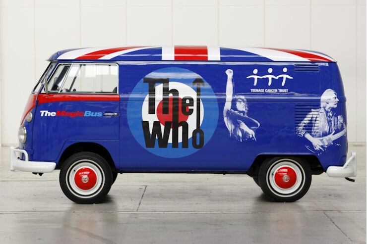 VW Bulli T1 The Who Magic Bus Verlosung promobil Reisemobile Wohnmobile