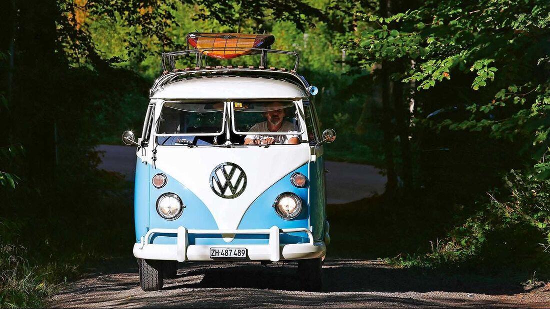 VW-Bus T1 vorne