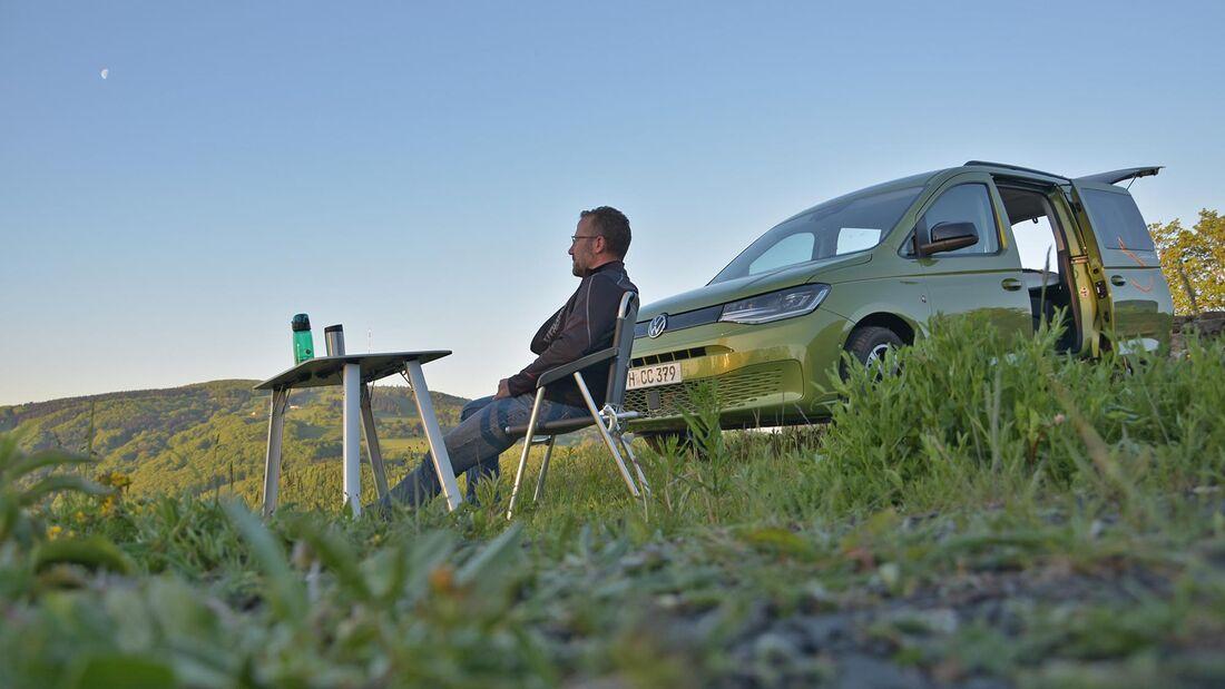 Praxis-Test VW Caddy California (2021) | Promobil