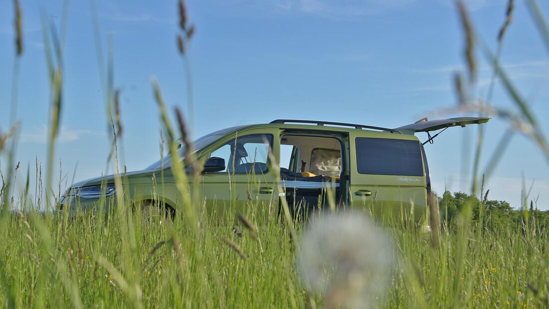 VW Caddy Californa, Praxis Test 2021