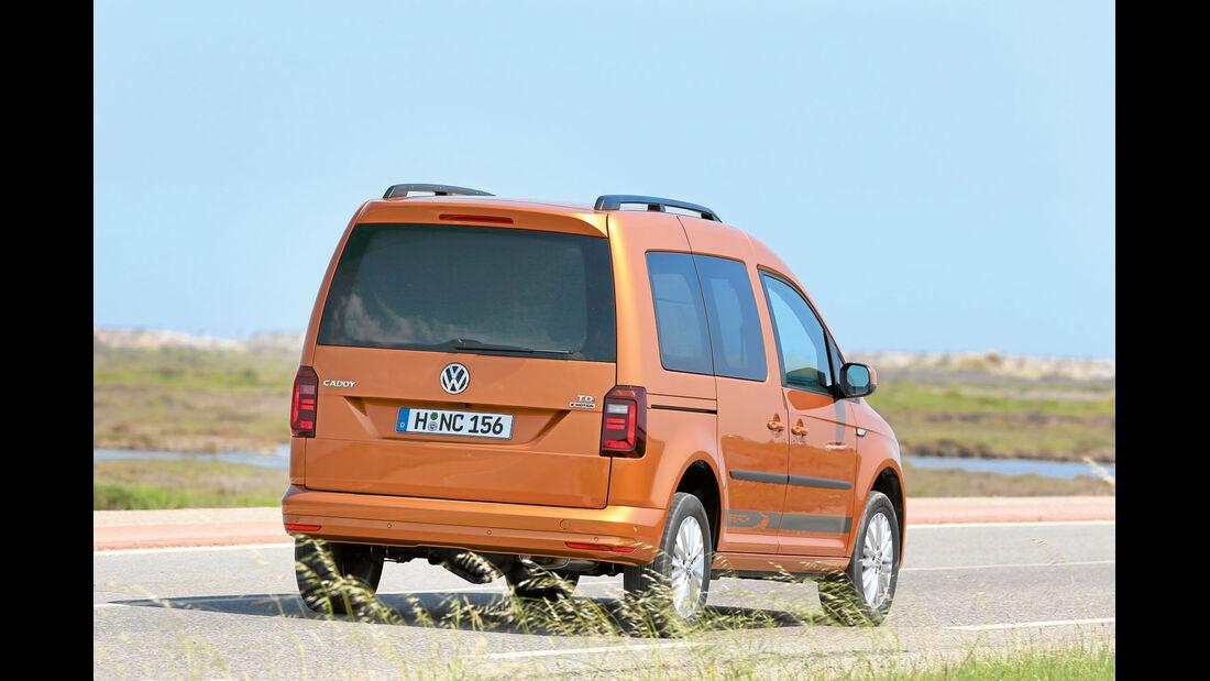VW Caddy Seitenansicht