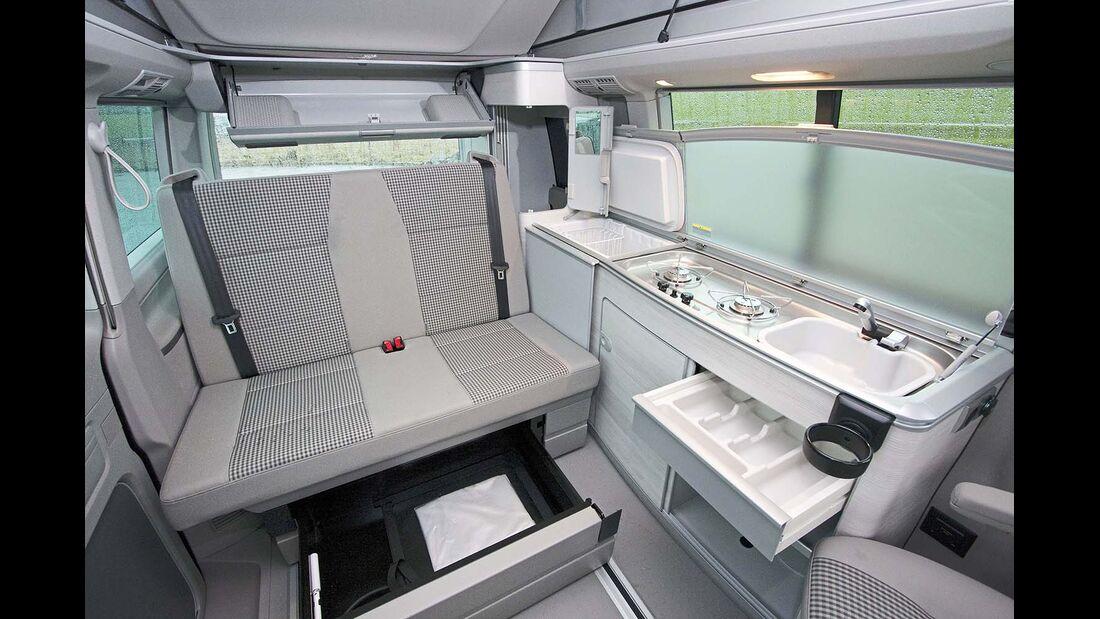 VW California Innenraum