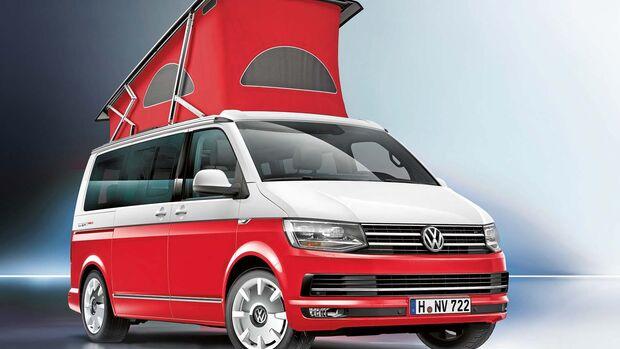VW California Ocean Red