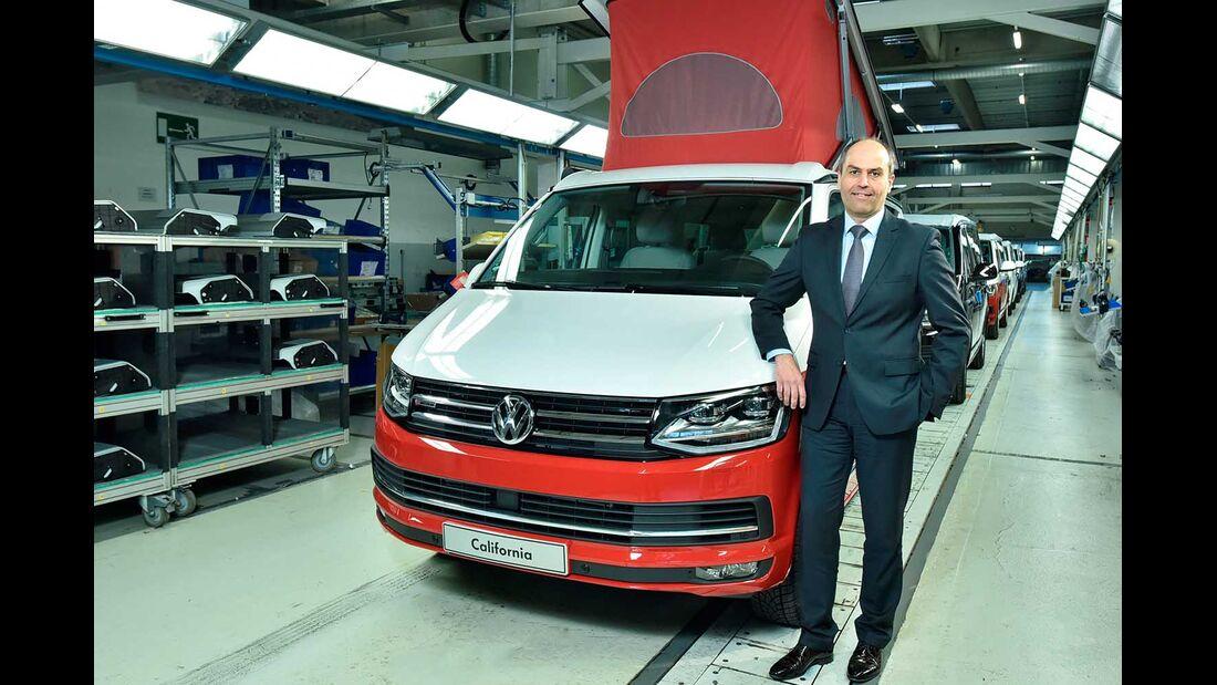VW California Produktion