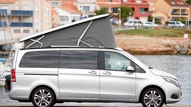 VW California Seitenansicht