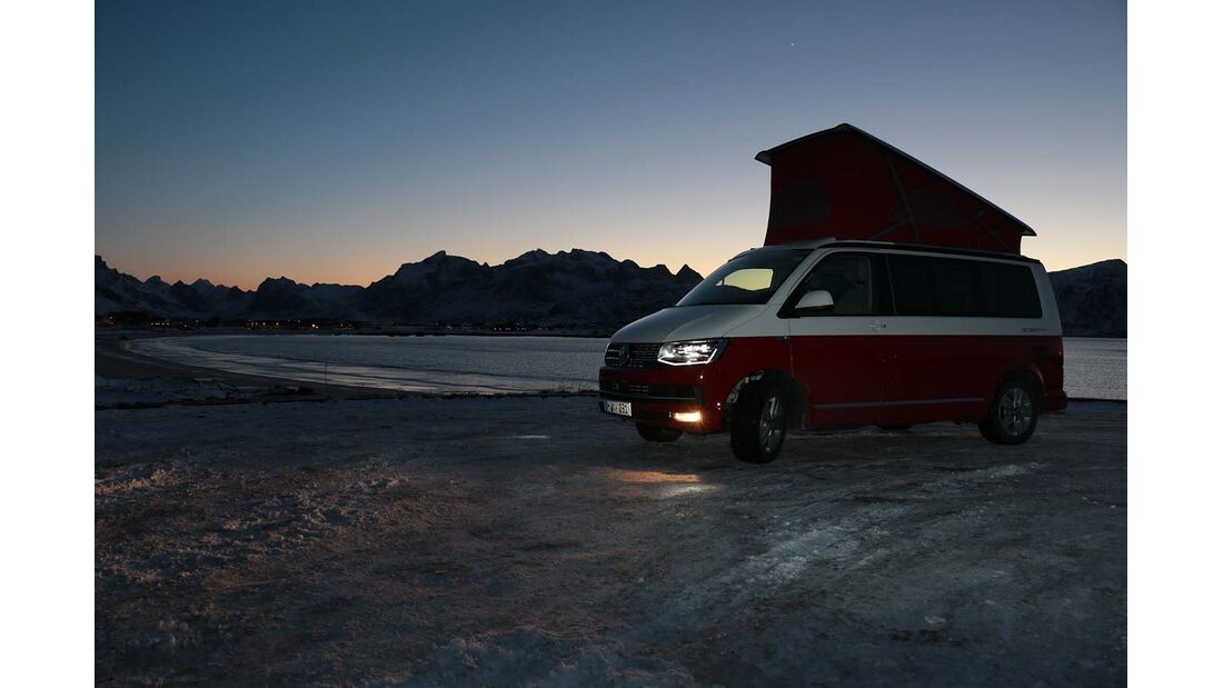 VW California auf den Lofoten