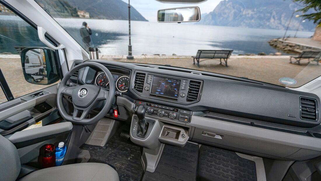 VW Grand California (2020) im Vergleichstest